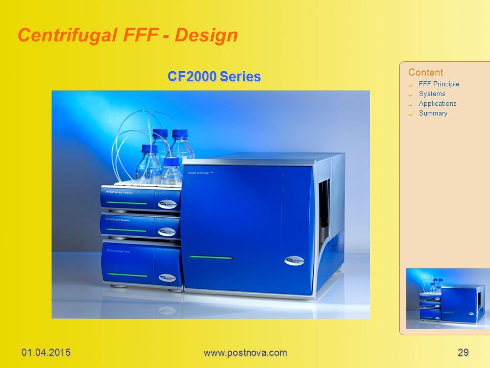 Centrifugal FFF - Design
