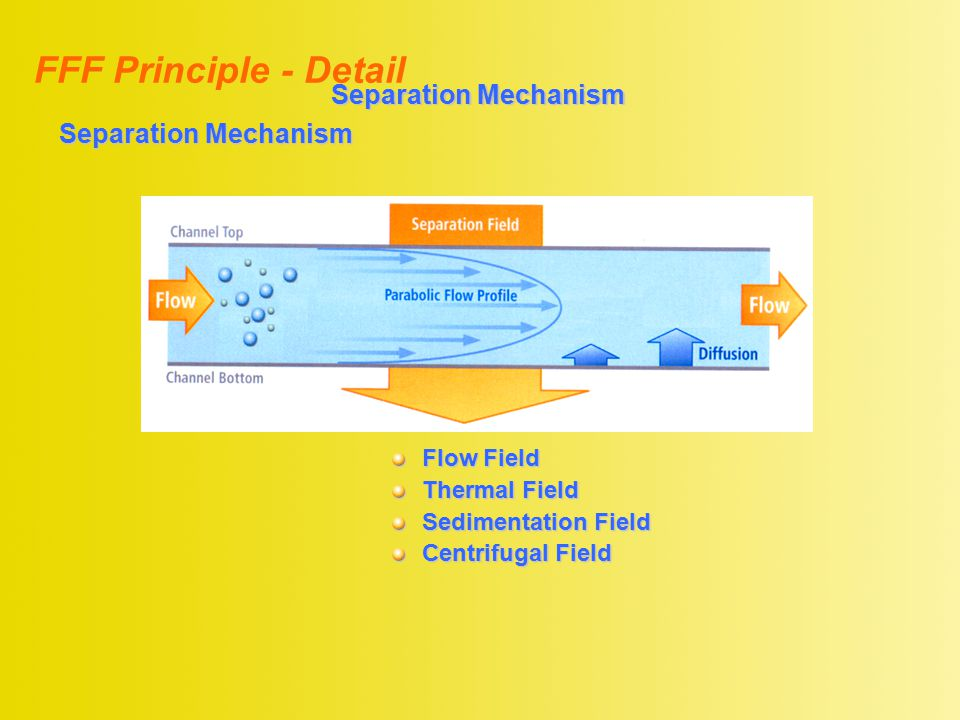 FFF Principle - Detail Separation Mechanism Separation Mechanism