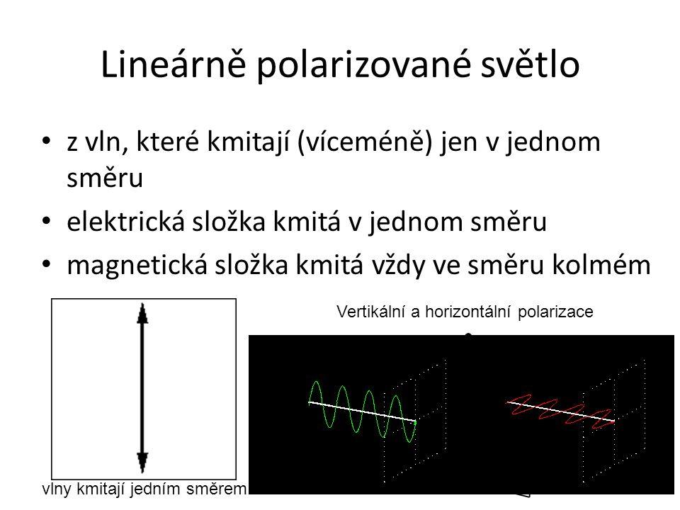 Lineárně polarizované světlo