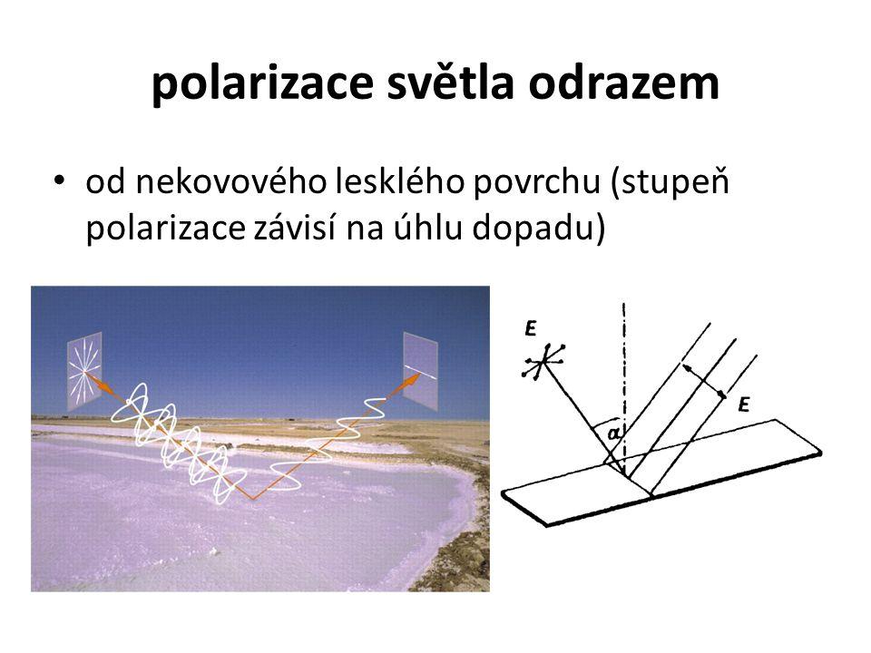 polarizace světla odrazem