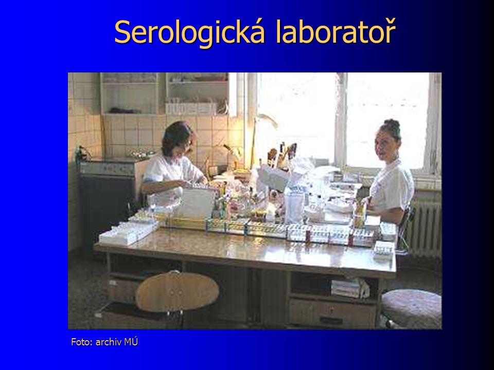 Serologická laboratoř