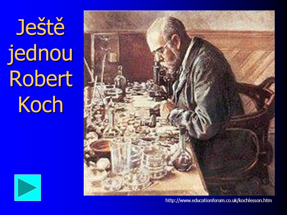 Ještě jednou Robert Koch