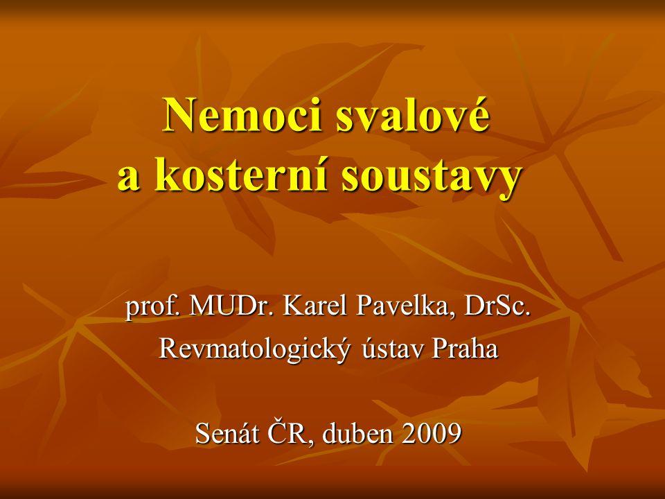 Nemoci svalové a kosterní soustavy
