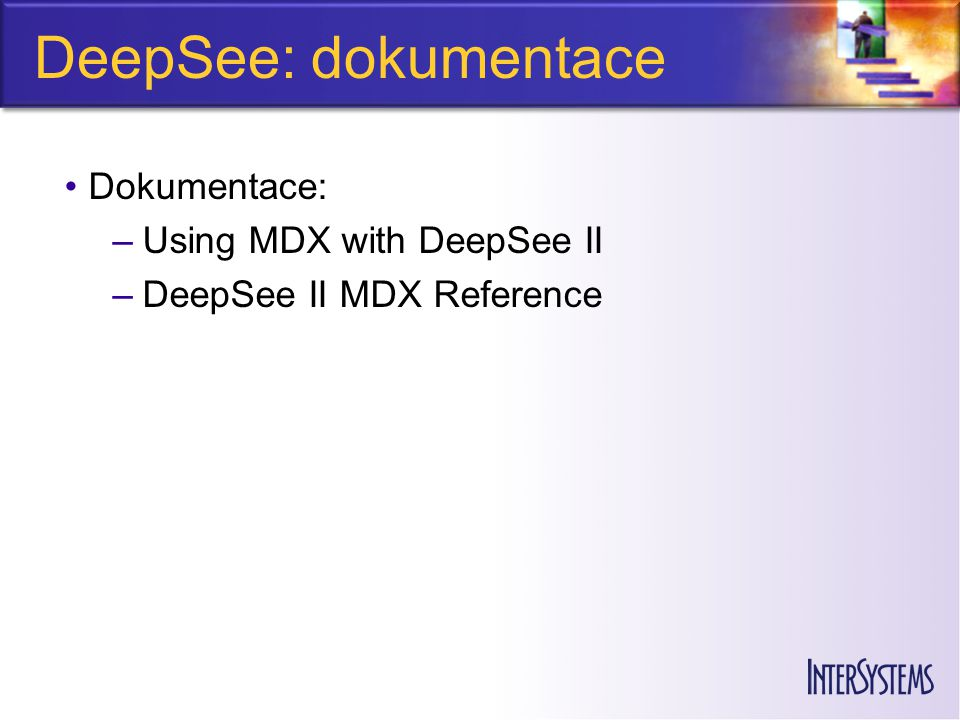 DeepSee: dokumentace Dokumentace: Using MDX with DeepSee II
