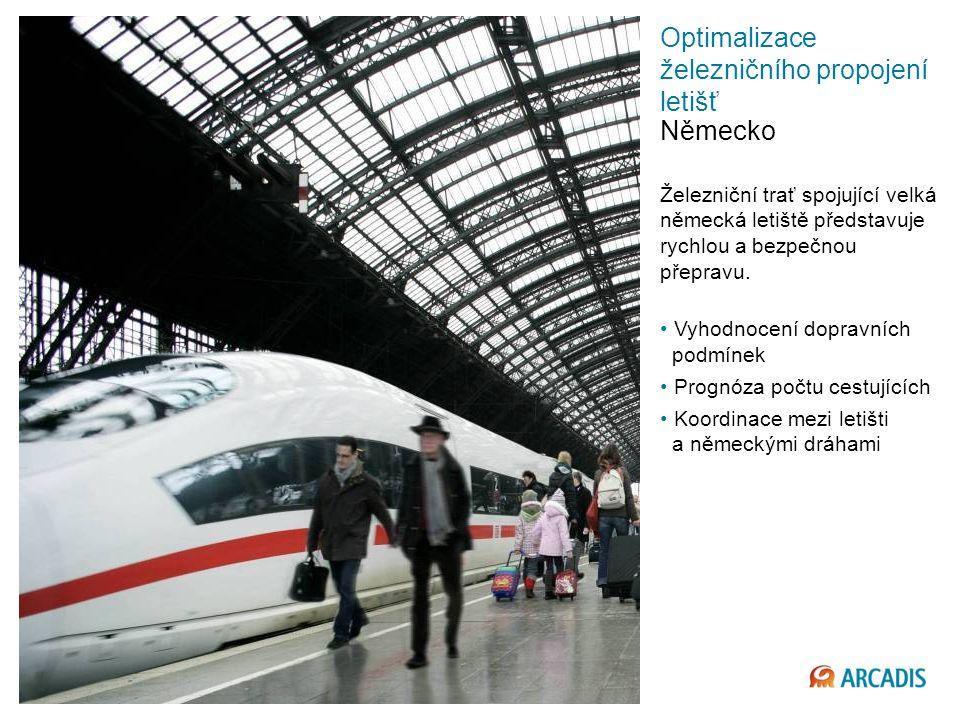 Optimalizace železničního propojení letišť