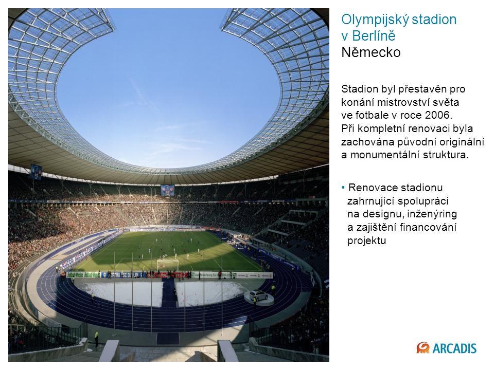 Olympijský stadion v Berlíně Německo