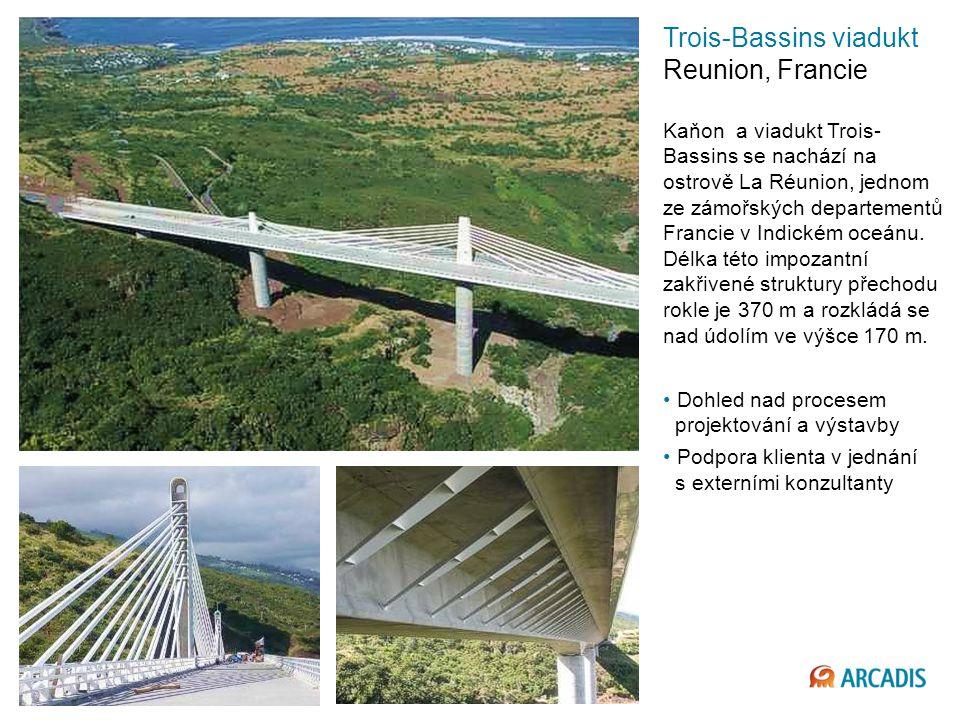 Trois-Bassins viadukt Reunion, Francie