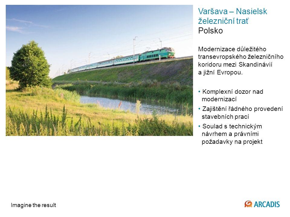 Varšava – Nasielsk železniční trať Polsko