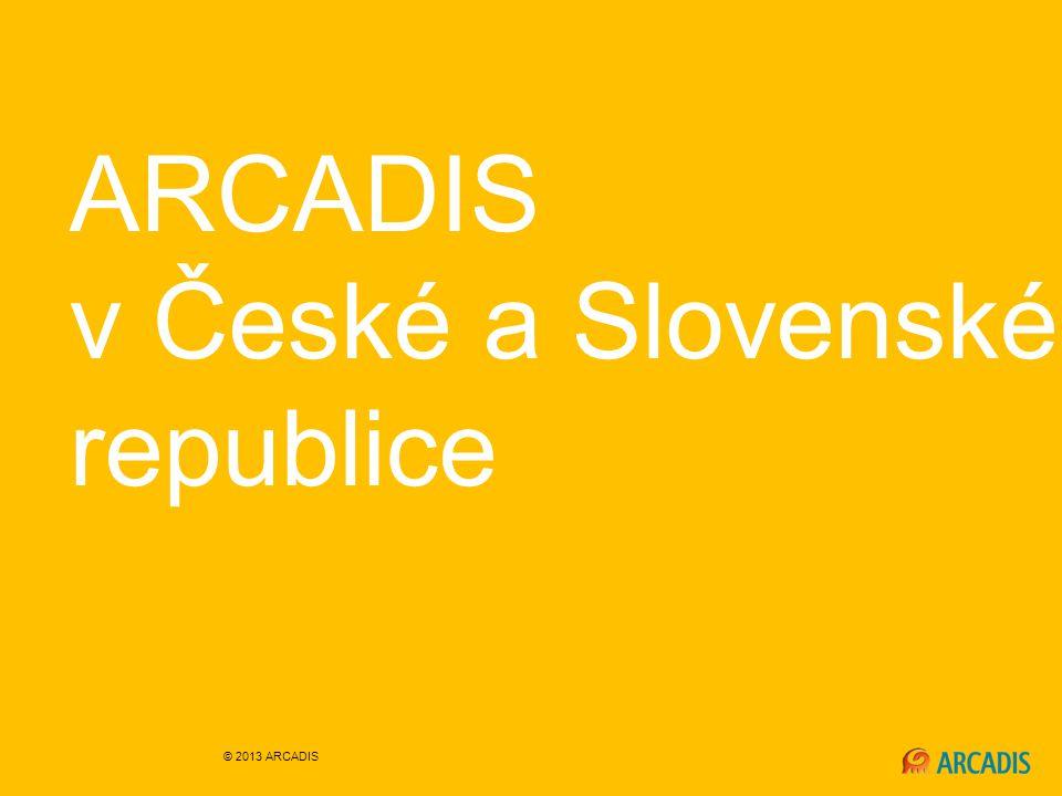 ARCADIS v České a Slovenské republice