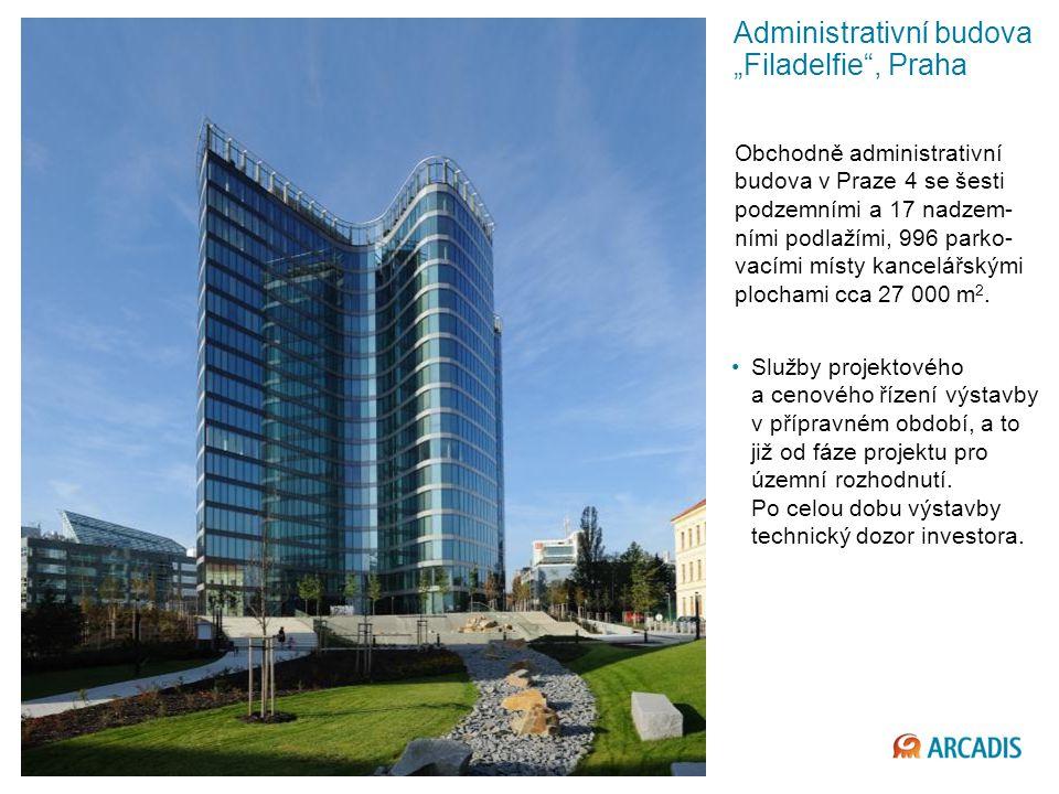 """Administrativní budova """"Filadelfie , Praha"""