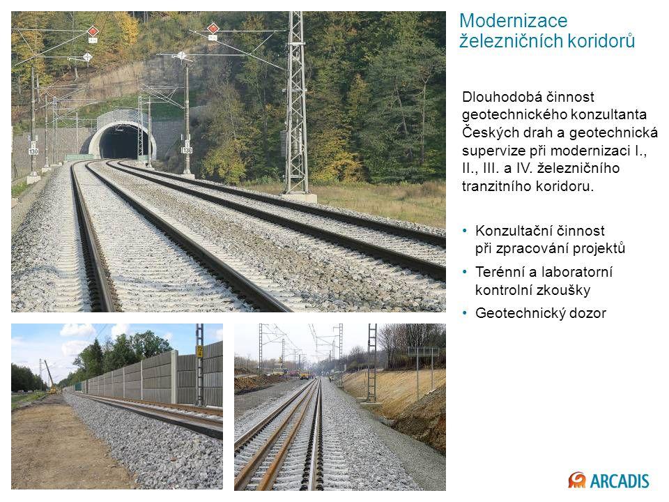 Modernizace železničních koridorů