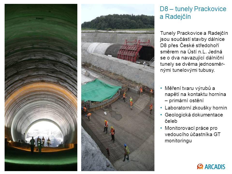 D8 – tunely Prackovice a Radejčín