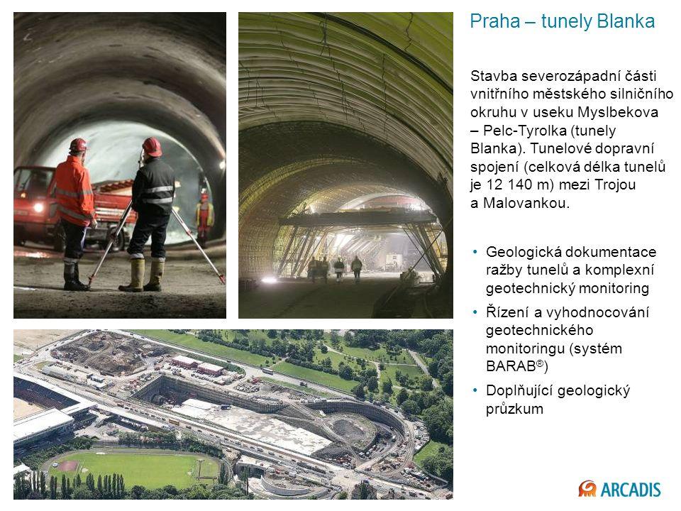Praha – tunely Blanka
