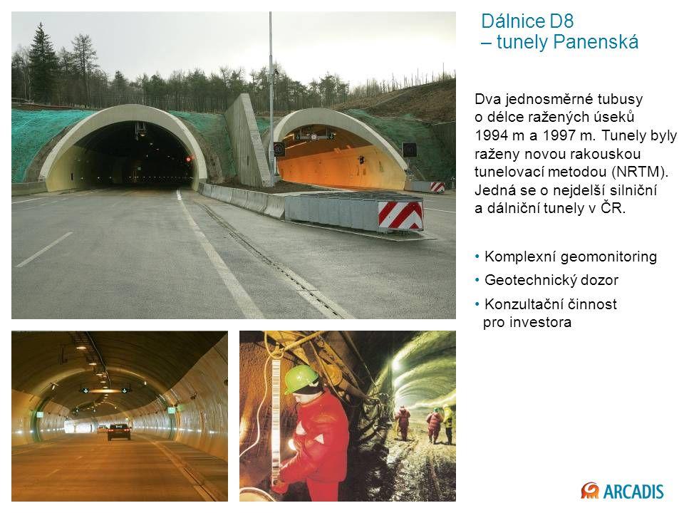 Dálnice D8 – tunely Panenská