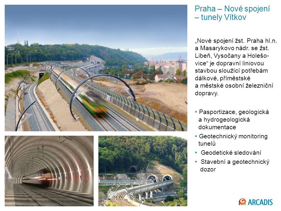 Praha – Nové spojení – tunely Vítkov