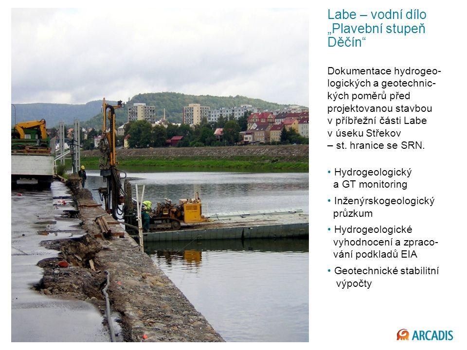 """Labe – vodní dílo """"Plavební stupeň Děčín"""