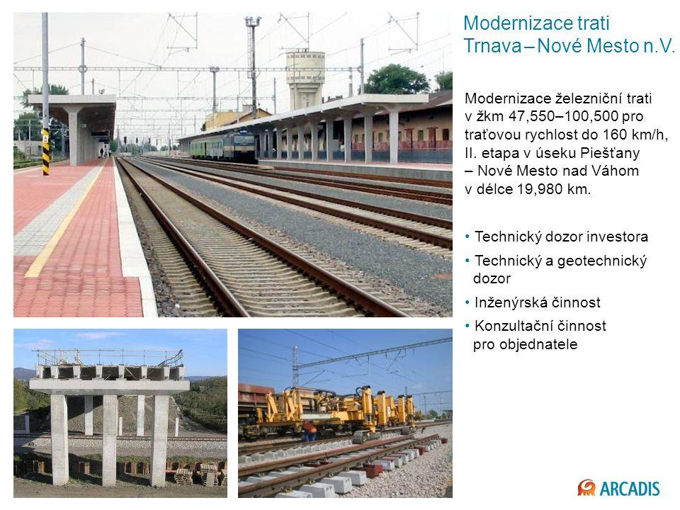 Modernizace trati Trnava – Nové Mesto n.V.