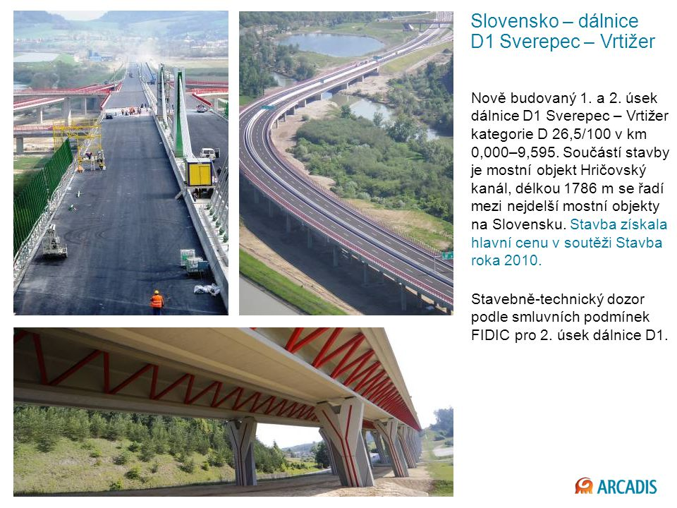 Slovensko – dálnice D1 Sverepec – Vrtižer