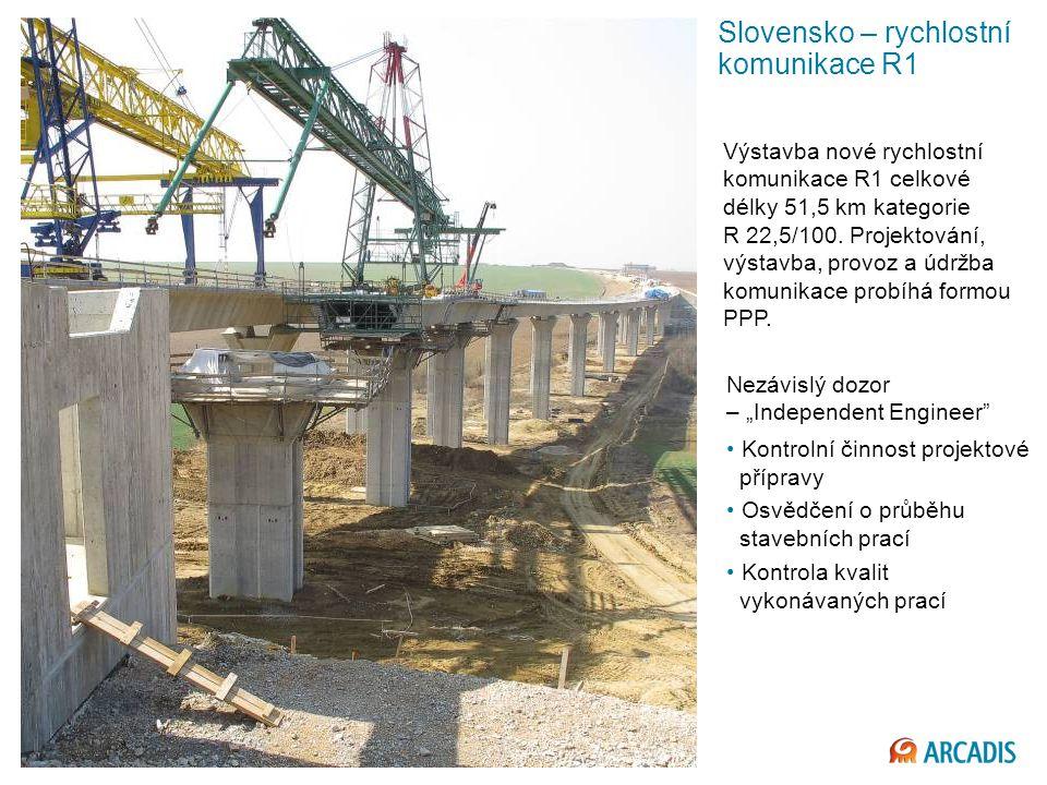 Slovensko – rychlostní komunikace R1