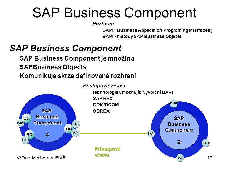 SAP Business Component
