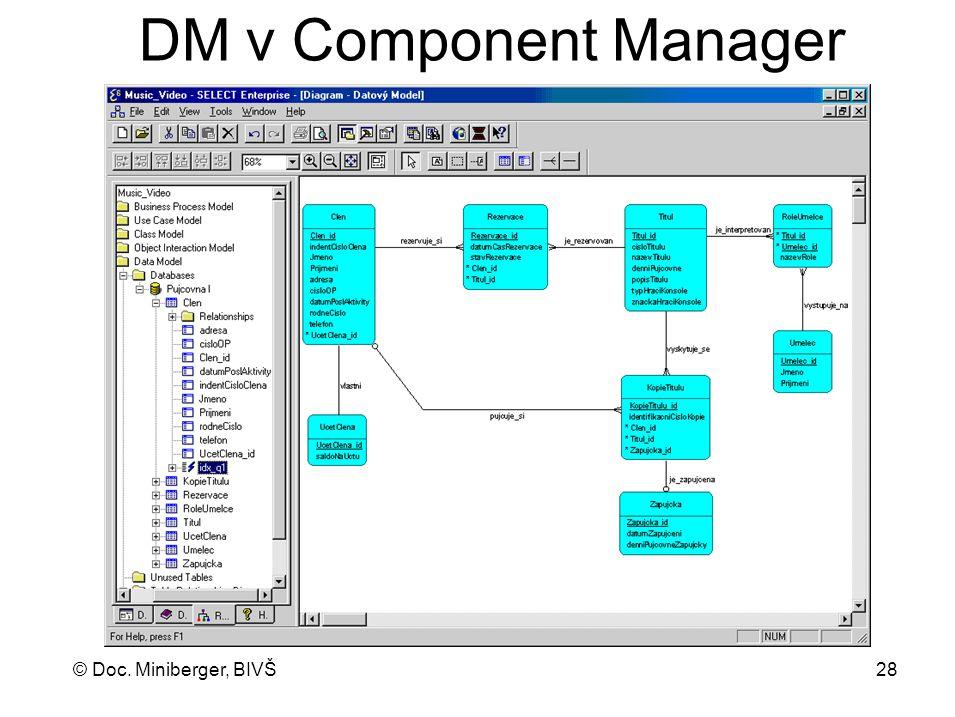 DM v Component Manager