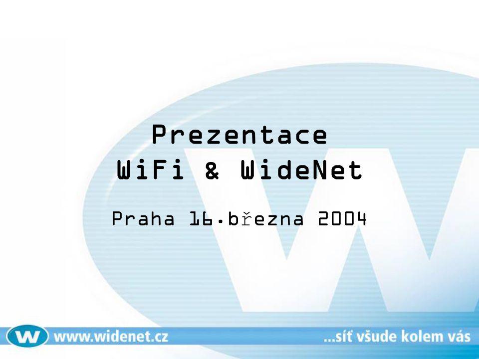 Prezentace WiFi & WideNet