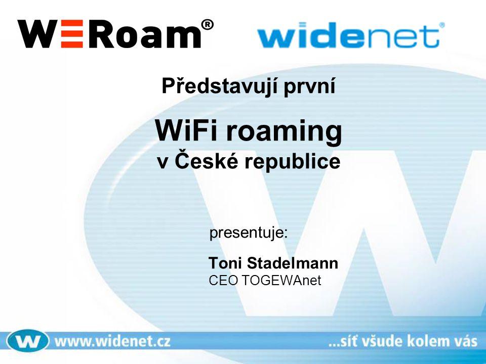 Představují první WiFi roaming