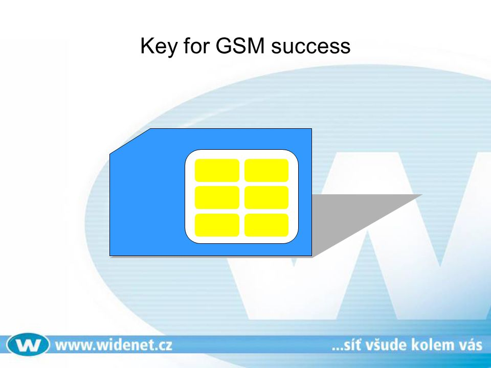Key for GSM success