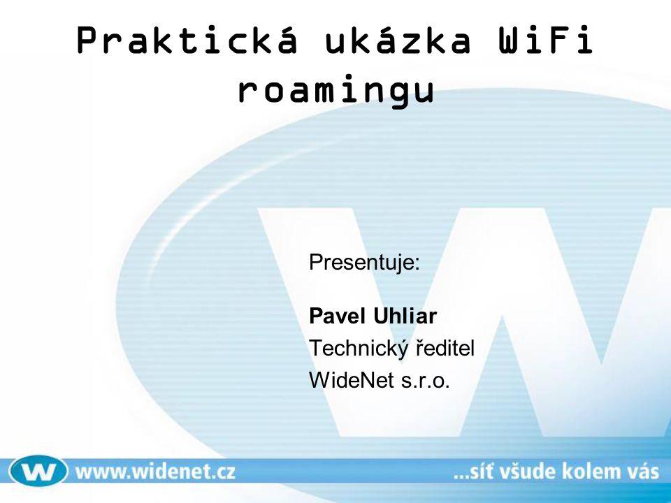 Praktická ukázka WiFi roamingu