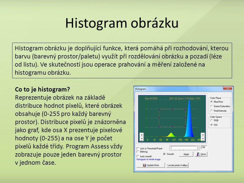 Histogram obrázku