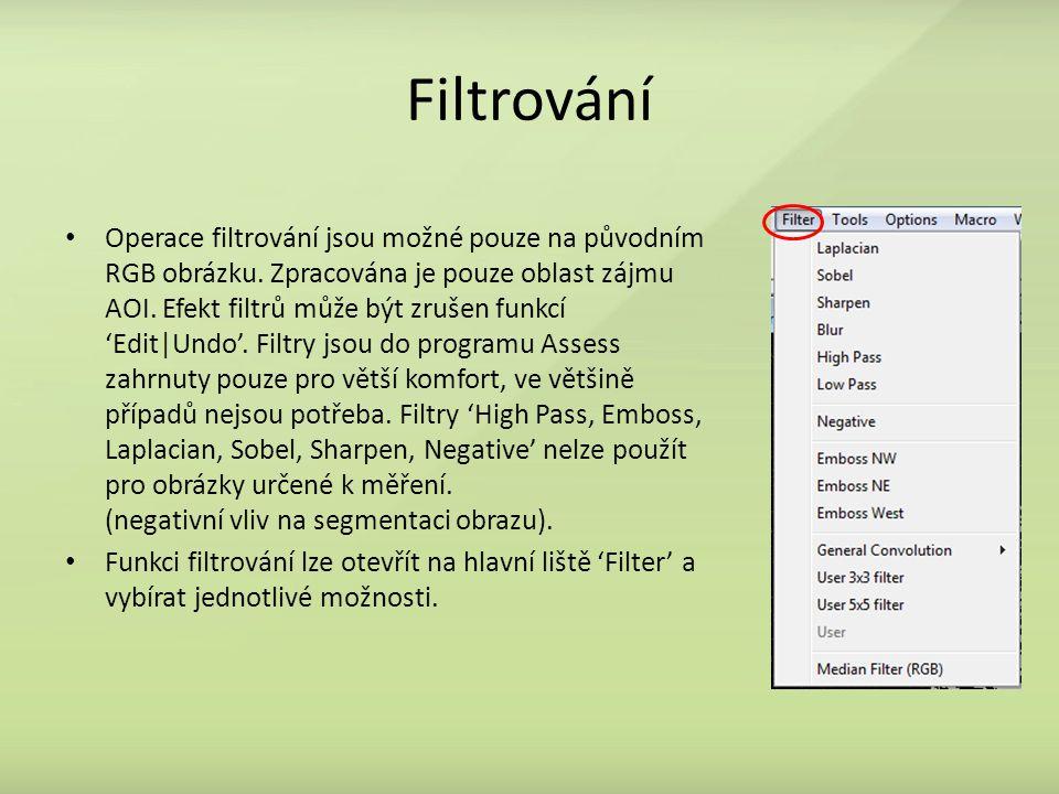 Filtrování