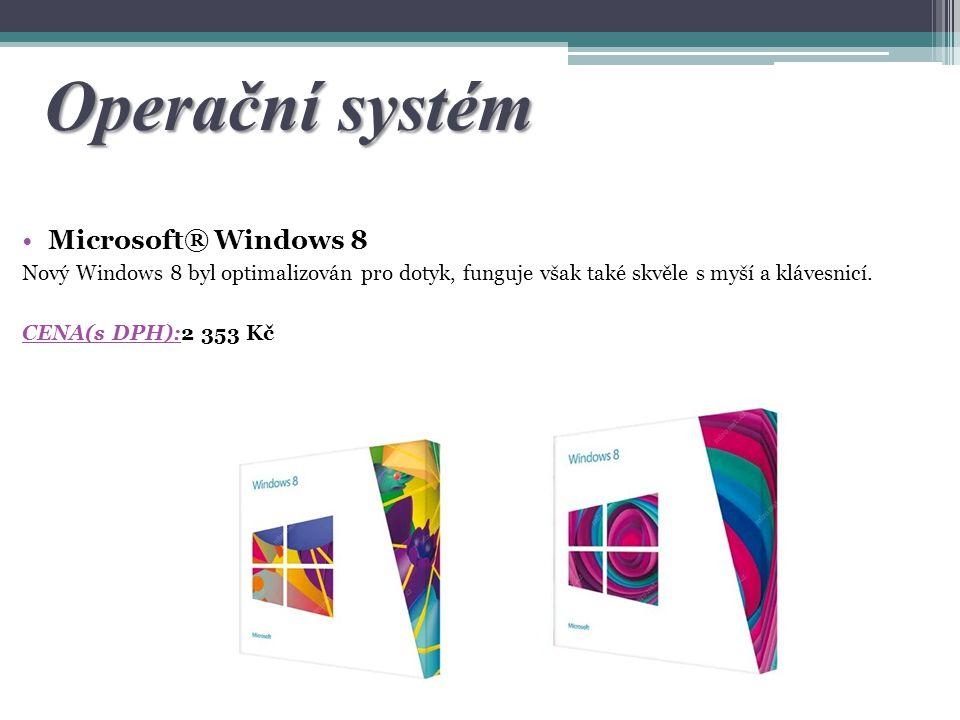 Operační systém Microsoft® Windows 8