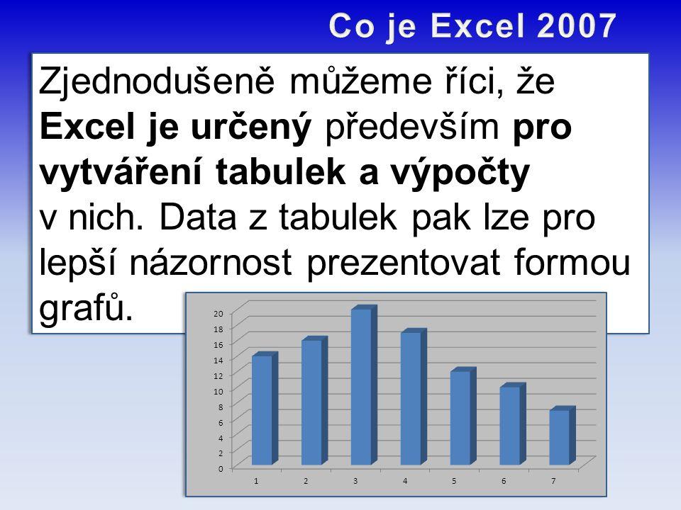 Co je Excel 2007