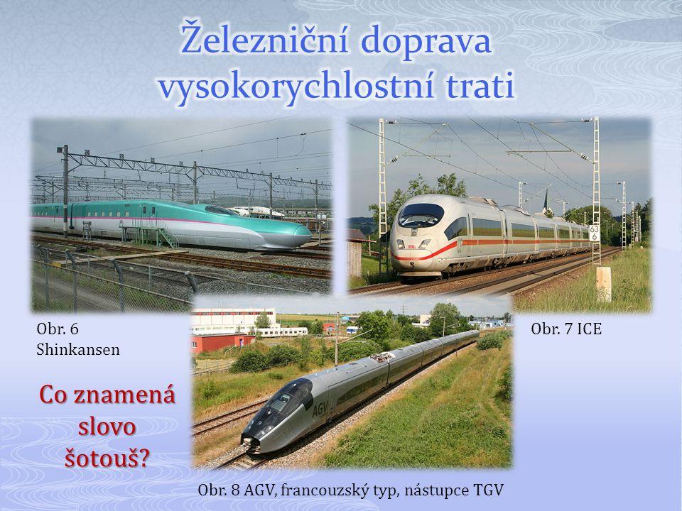 Železniční doprava vysokorychlostní trati
