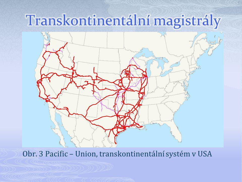 Transkontinentální magistrály