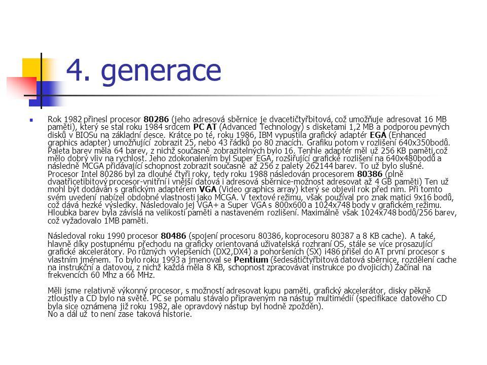 4. generace