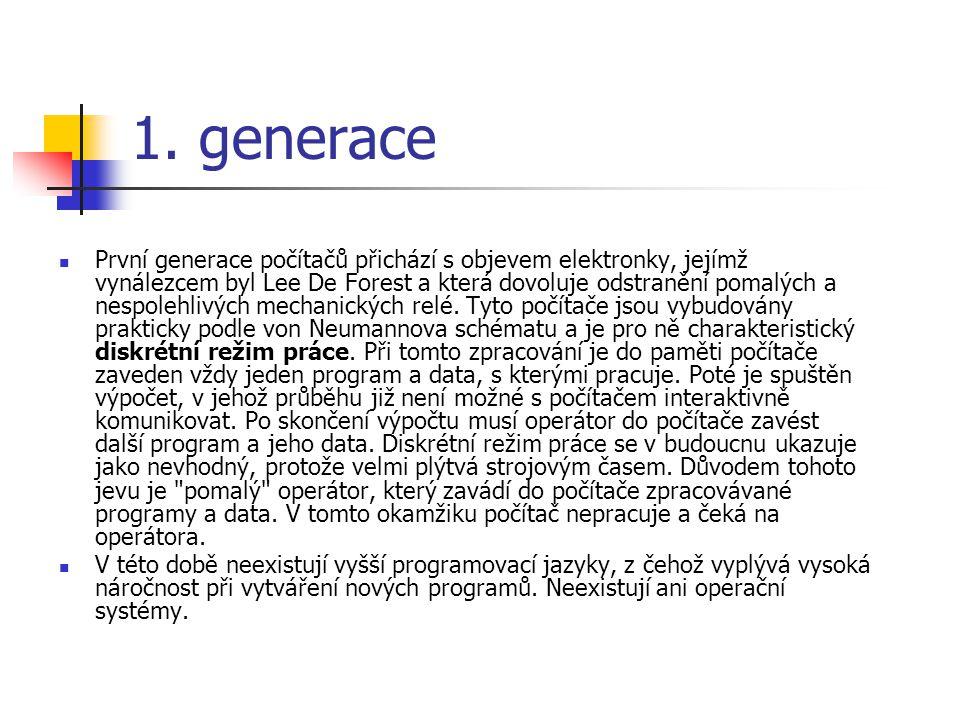 1. generace