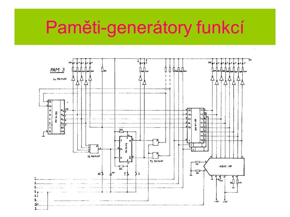 Paměti-generátory funkcí