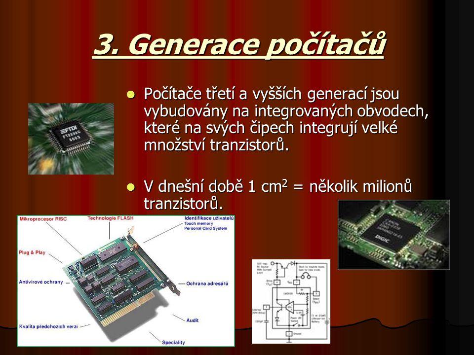3. Generace počítačů