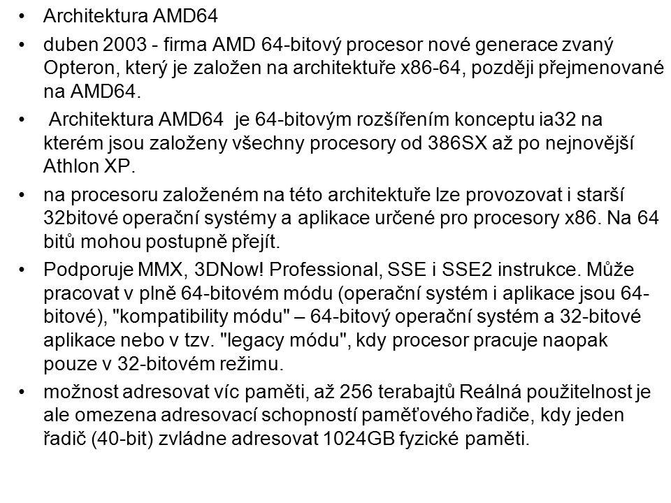 Architektura AMD64