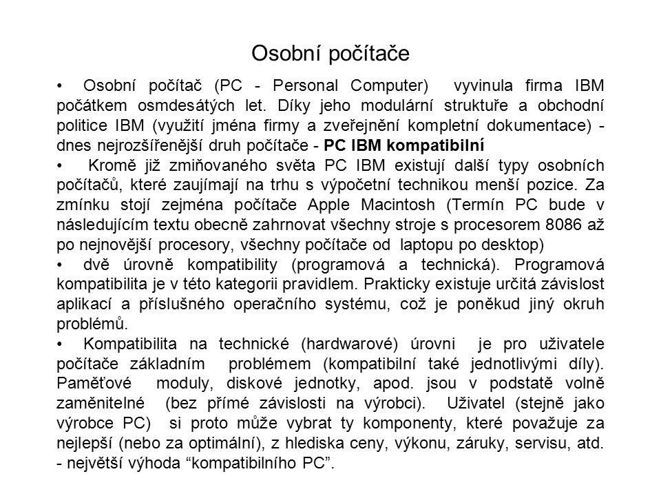 Osobní počítače