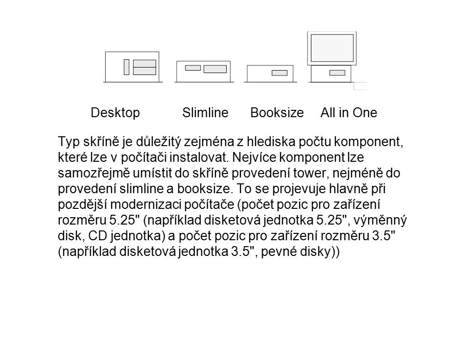 Desktop Slimline Booksize All in One