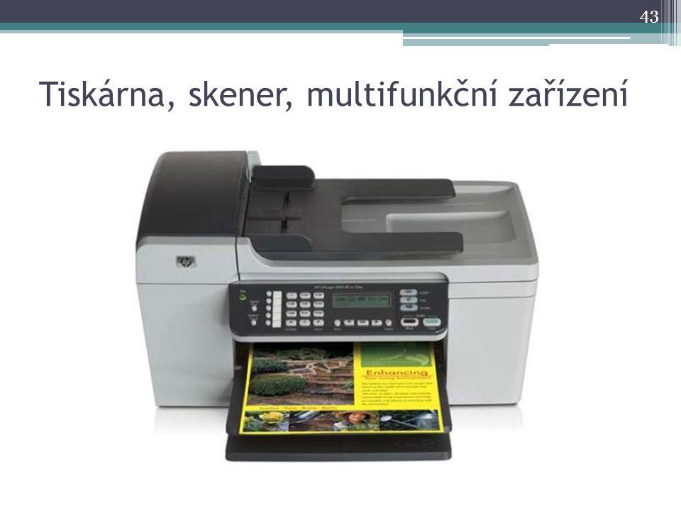 Tiskárna, skener, multifunkční zařízení
