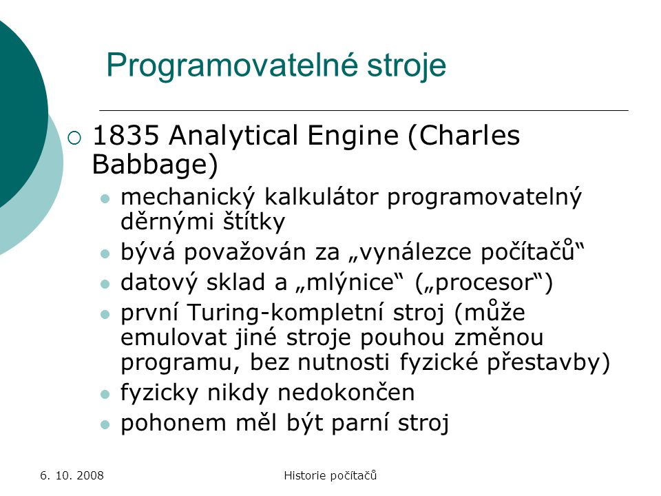 Programovatelné stroje