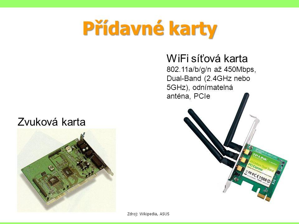 Přídavné karty WiFi síťová karta 802.11a/b/g/n až 450Mbps, Dual-Band (2.4GHz nebo 5GHz), odnímatelná anténa, PCIe.
