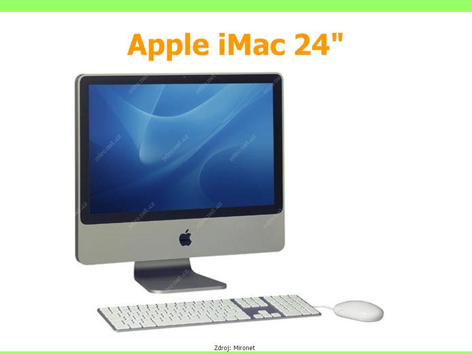 Apple iMac 24 Zdroj: Mironet