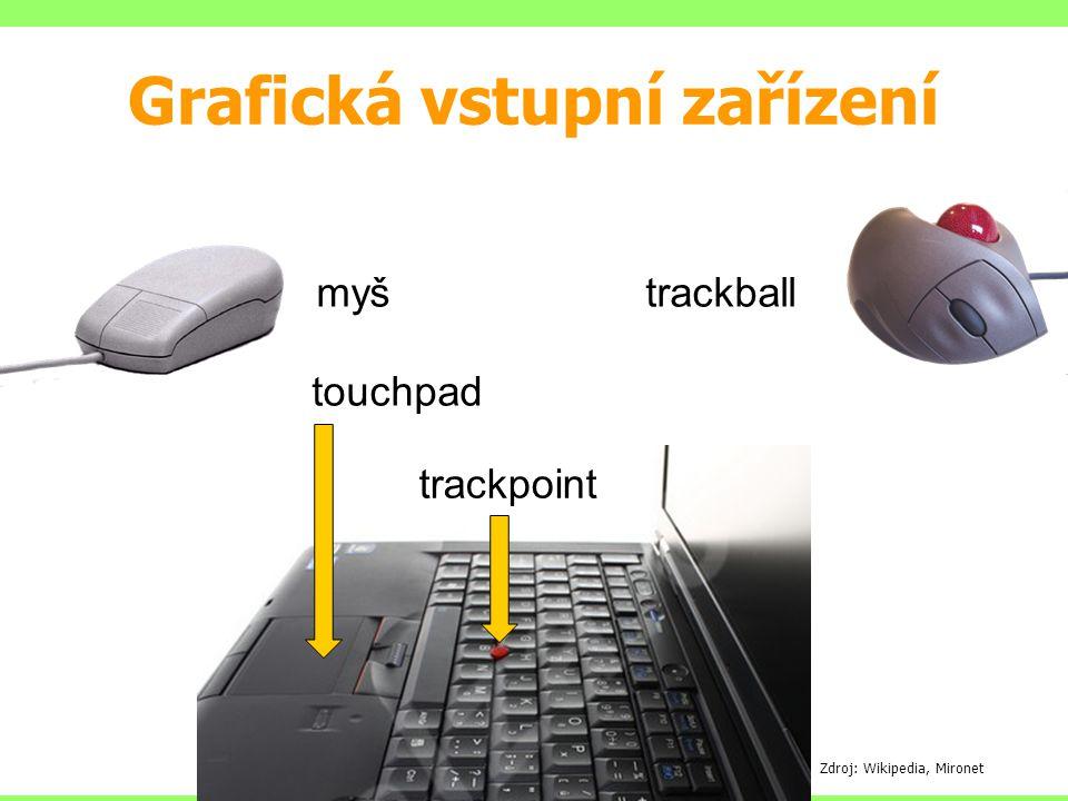Grafická vstupní zařízení
