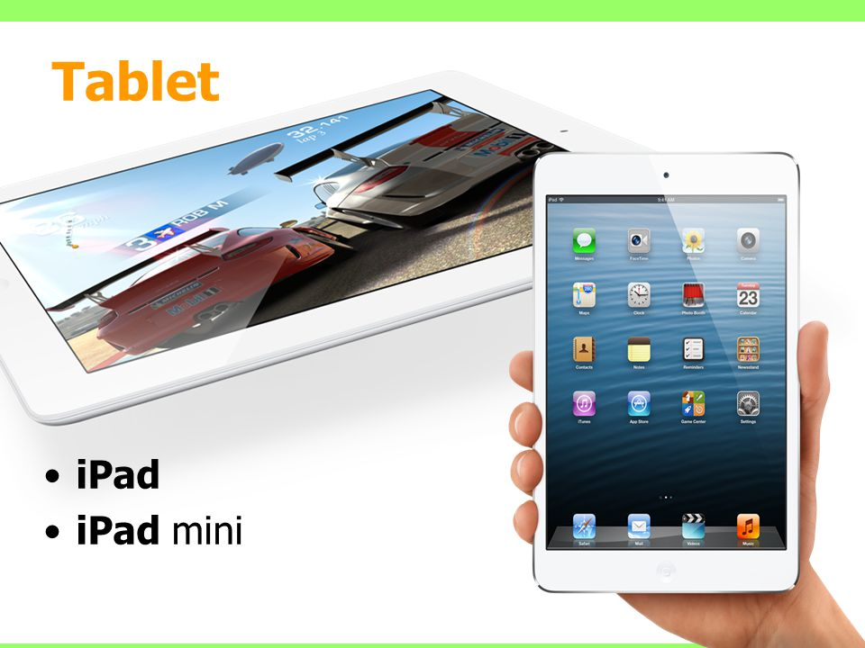 Tablet iPad iPad mini