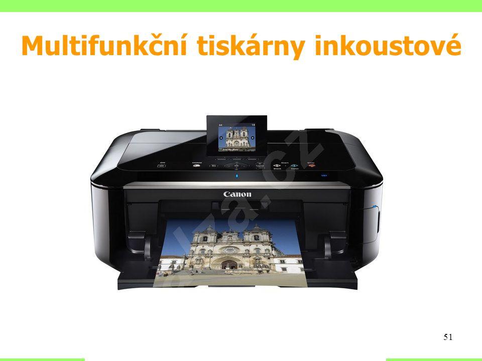 Multifunkční tiskárny inkoustové