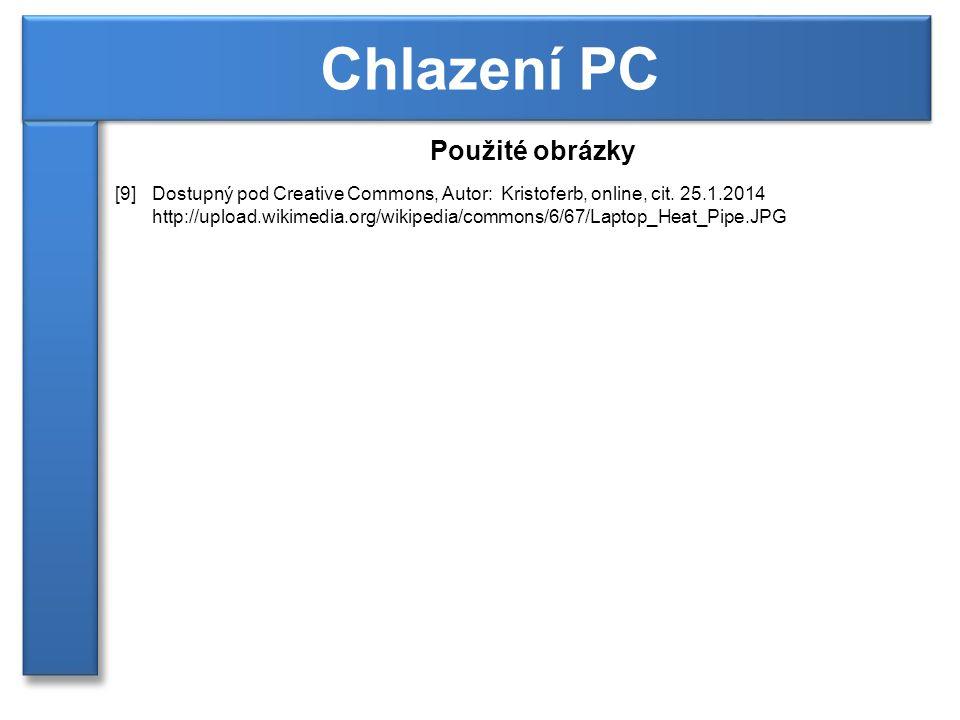 Chlazení PC Použité obrázky
